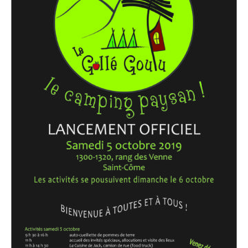 Lancement officiel
